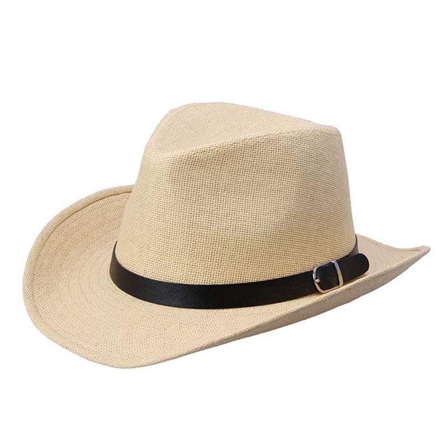 Straw Hat Fedora - Panama Trilby Style Packable Crushable Summer Sun Mens  Ladies a95f84414c5f
