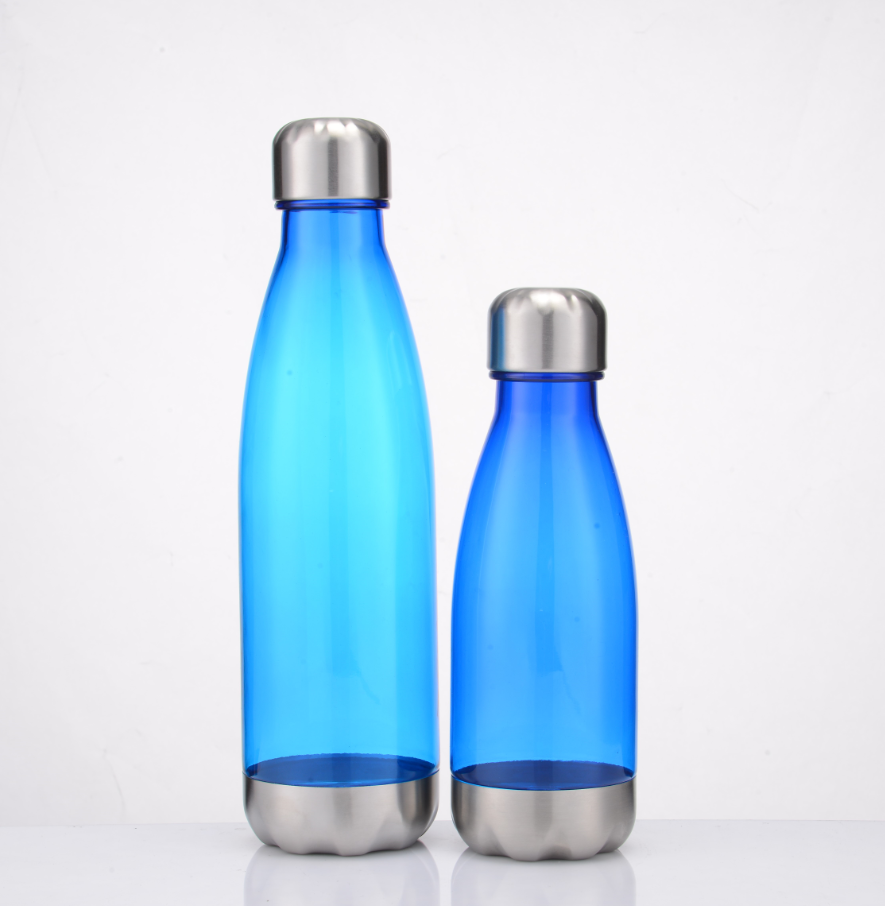 650ML cola water bottle colorful customized any color <strong>Sports</strong> Drinking Bottles With Stainless steel Lid and Bottom