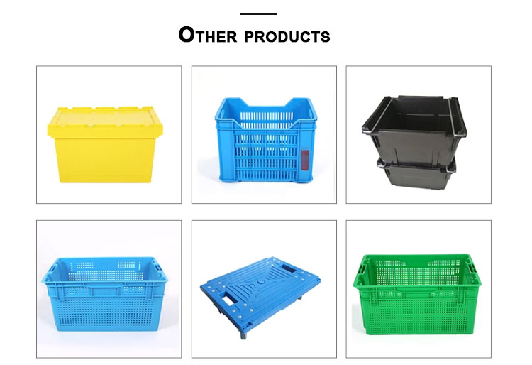 Nestable Bale Arm Crate Mesh Fruit Storage Picking Turnover Basket Box
