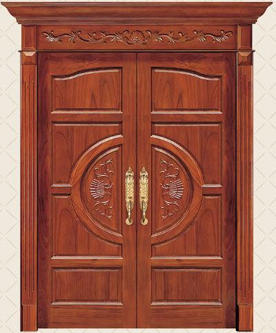 Foshan modern teak wood main door frame design buy teak for Double door design catalogue