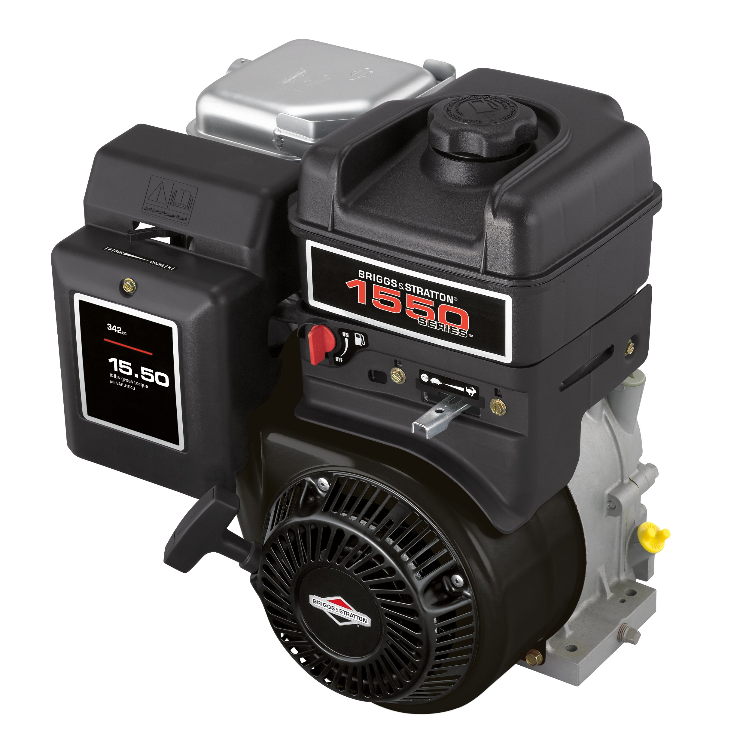 Get Quotations · Briggs & Stratton 210332-0535-B1 342cc 15.50 Gross Torque  Engine With A Threaded
