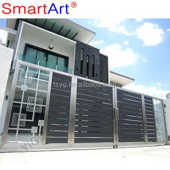 Modern Outdoor Simple Steel Gate Design