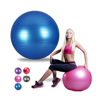 Small promotional glowing color yoga massage balls