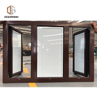 Aluminium louvre with glass blades shutter framed