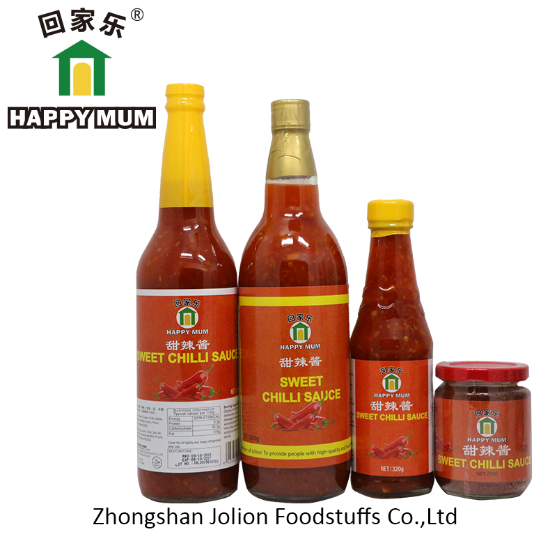 890G Wholesale Factory Price OEM  HALAL Chinese Seasoning Sweet Chilli Sauce