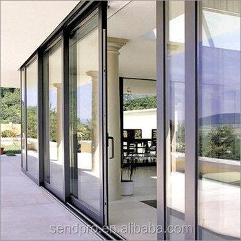 Powder Coated Aluminium Frame Sliding Glass Doorslide Doors Buy