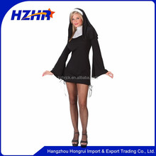 Girl Cosplay Halloween Costume Naughty Sister Nun Costume/ Nun Costume