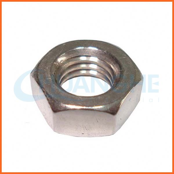 Factory price stainless steel m3-m8 hex coupling nut