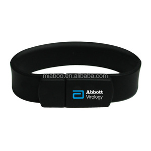 promotional wristband usb flash drive for women and men, promotion cheap usb wristband, custom usb silicone bracelet
