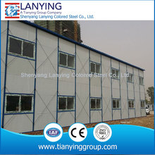 Pre engineered steel building for dormitory, site office, labor camping