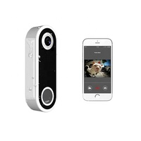 TUYA APP Smart Home Security system video wireless visual intercom IP65 waterproof Video doorbell with camera