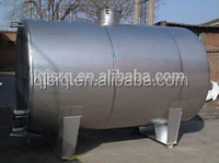 Stainless steel milk cooling tank/water storage tank