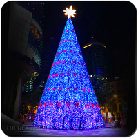 Decorated luces de navidad led christmas tree light