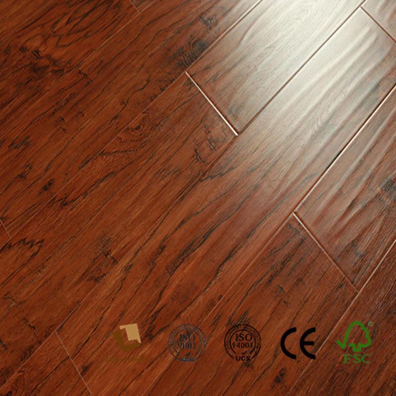Hand Scraped Laminate Flooring 12mm Hand Scraped Laminate Flooring