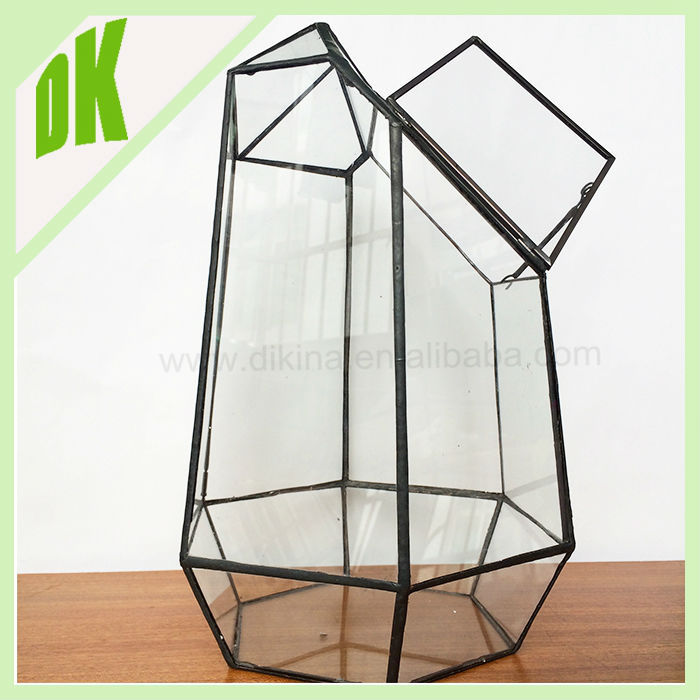 Terrariums Decor Hanging Glass Ball Holder Geometric Glass Terrarium