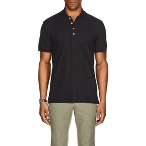 100% pima cotton man formal Polo t-shirt made in china with cheap factory price
