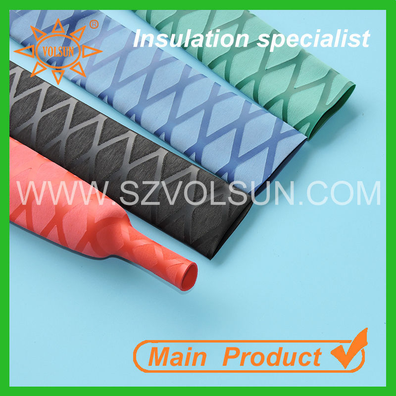 Colorful Wholesale Handle Grips Polyethylene Heat Shrinkable Tubing with Good Quality