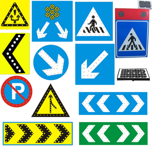 Hot sale Solar LED road reflector signs with factory price