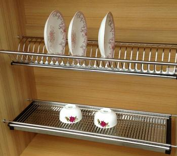 Professional Products Stainless Steel 201 Wall Hanging Dish Rack Incase