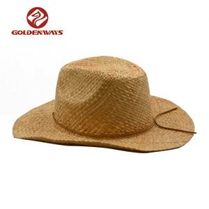 53596017 China Raffia Cowboy Hat, China Raffia Cowboy Hat Manufacturers and  Suppliers on Alibaba.com