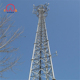 60m 3-legs elf supporting angular steel structure gsm guy wire tower