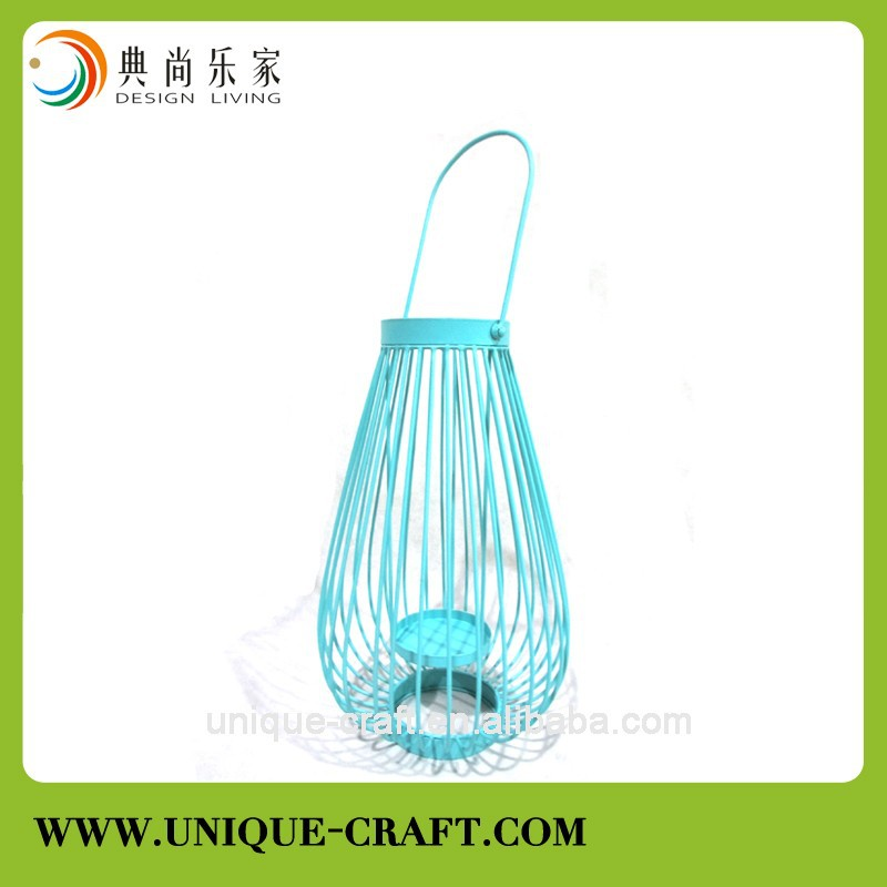 Metal home decor Candle holder lantern tealight holder for home and garden interior decoration