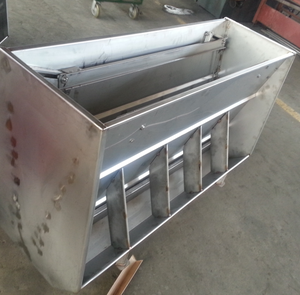 piggery farm equipment galvanized pig stainless steel feeder