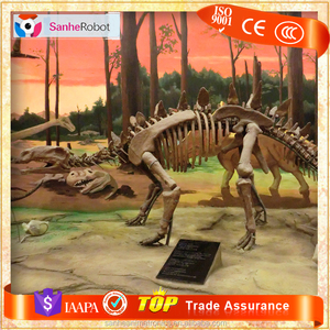 Top 10 Kids Attraction model Foam Dinosaur skeleton replicas with card