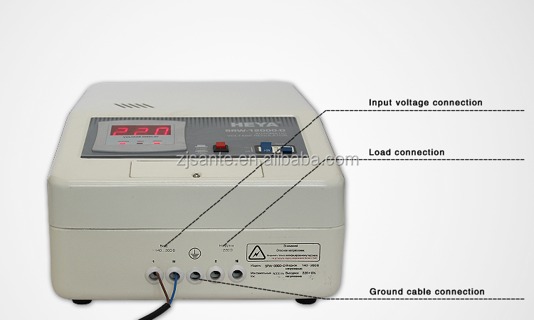 Refrigerator 3kva Automatic Voltage Regulator/Stabilizer