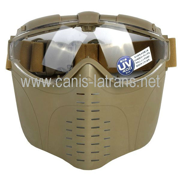 airsoft equipment/tactical airsoft full face mask /polic army tactical helmets CL9-0008