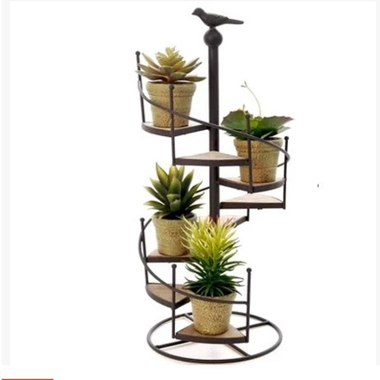 Pot Stand Designs : High quality spiral staircase design wrought iron flower