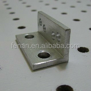 OEM special L shape Aluminum deep drawn right angle/left angle metal stamping bracket