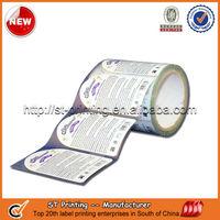 waterproof vinyl labels sticker paper