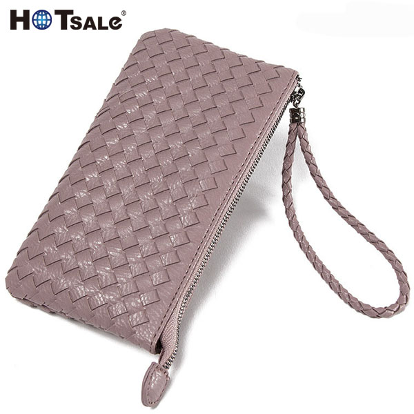 Natural Strong Genuine Leather Wallet With Metal Zip Around With Shark With Chain Wallet