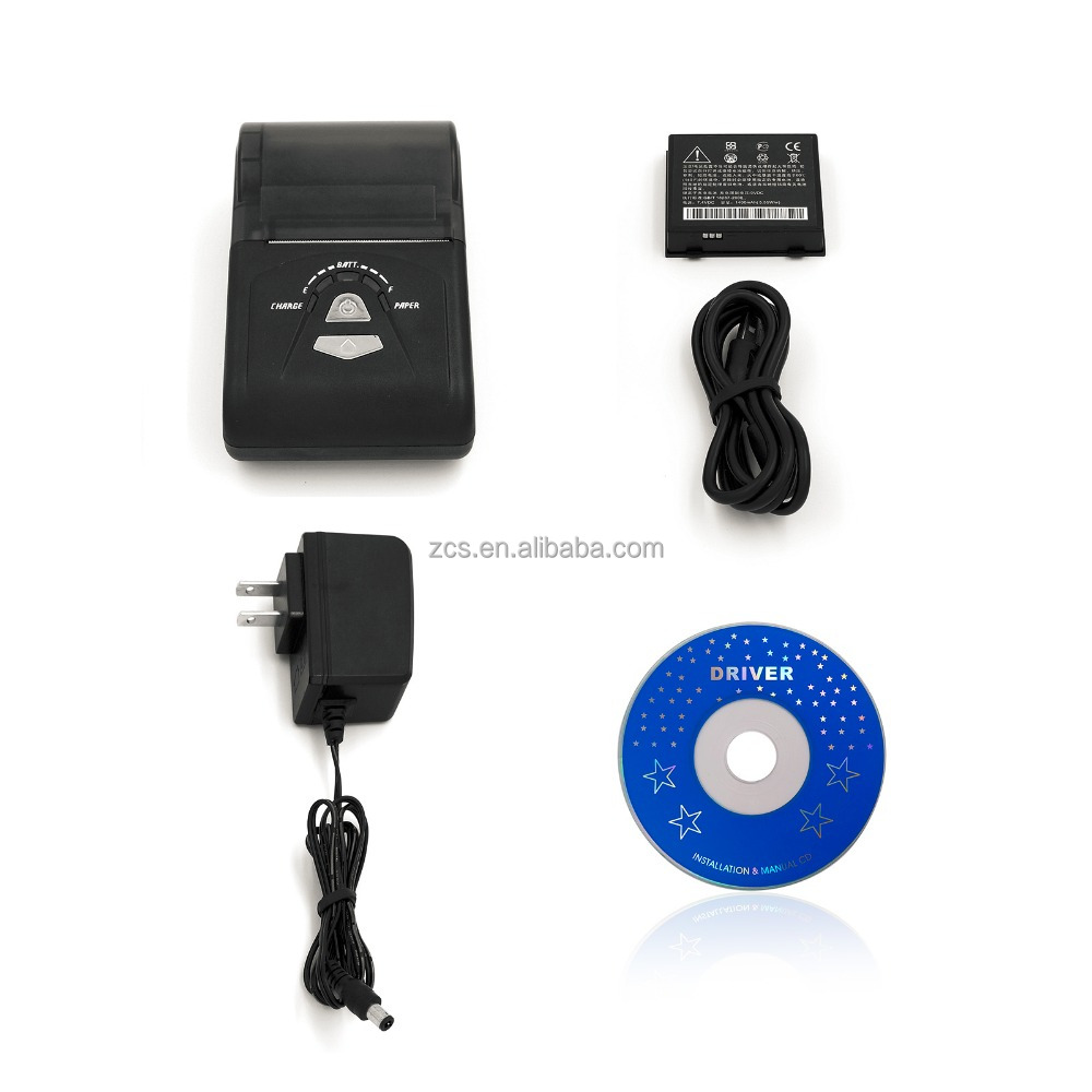 58mm Bluetooth Mobile receipt printer at a promotion price