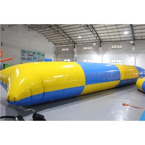 2019 factory price Inflatable Water Sport Game Toy inflatable blob, Jumping Pillow Blob Catapult