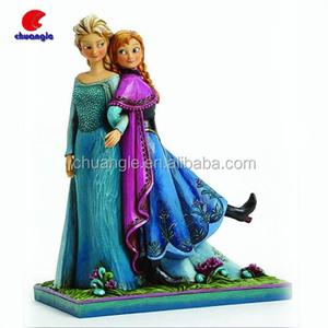 Custom HOT Elsa & Anna Frozen Figurines