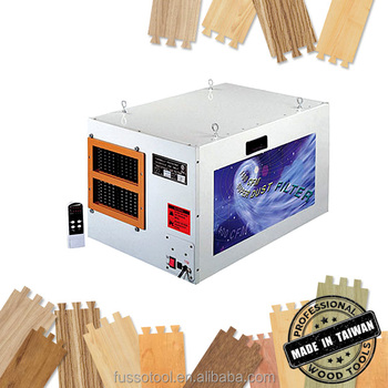 Woodworking air filtration dust cleaner