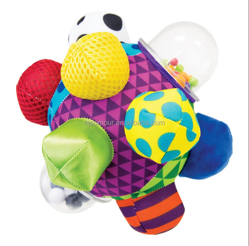 Developmental Bumpy Ball Baby Toy Activity Infant Motor Skills Development