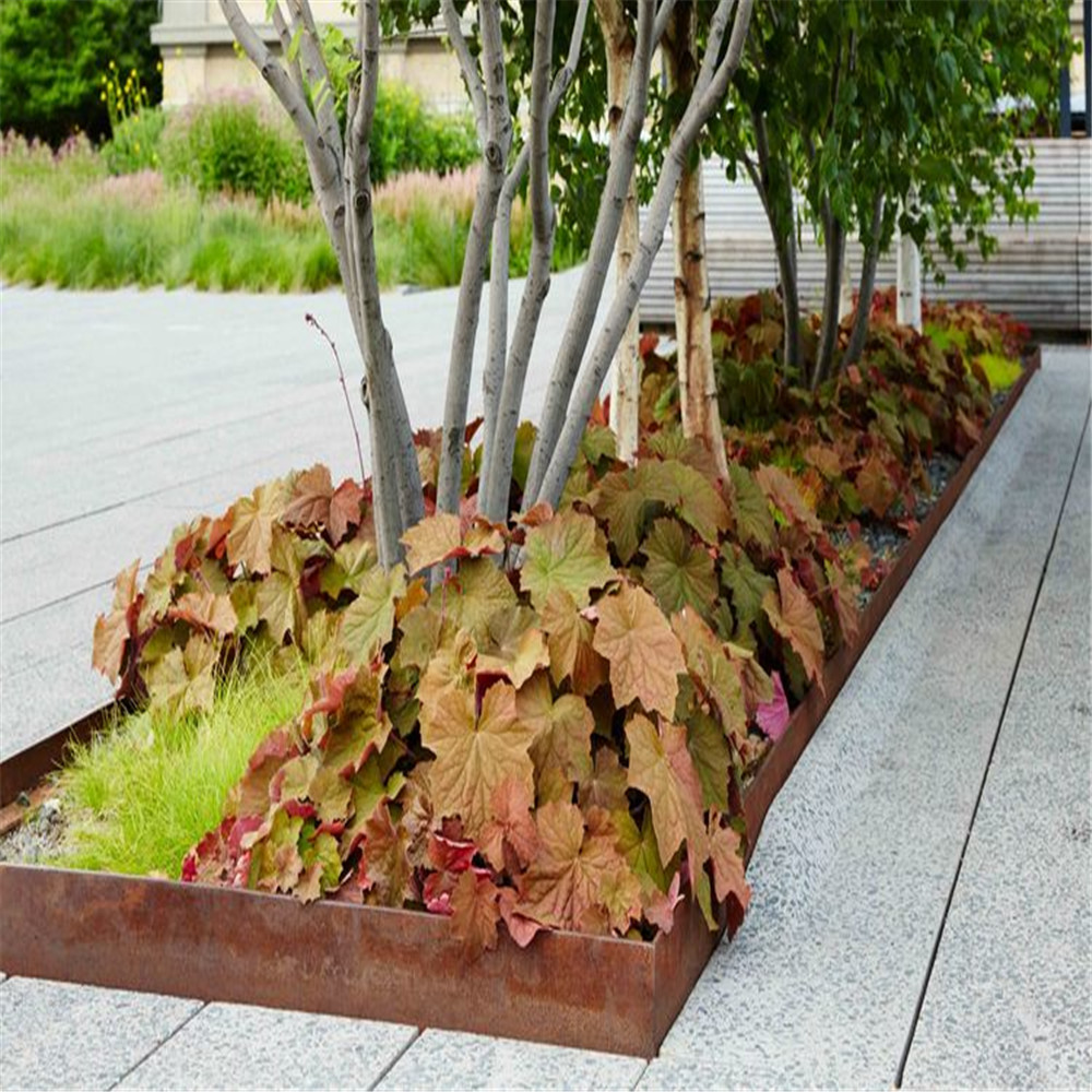 High Quality Corten Steel Edging For Landscaping