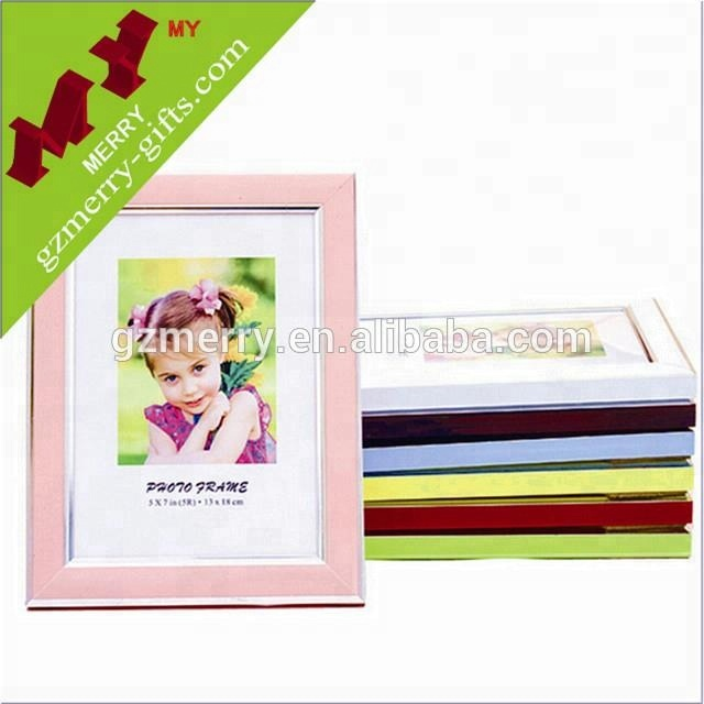 Made in China colorful wedding plastic photo frame