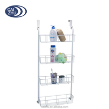 OVER THE DOOR MOUNTED BATHROOM/CLOSET/KITCHEN/PANTRY STORAGE ORGANIZER - WIRE SHELF