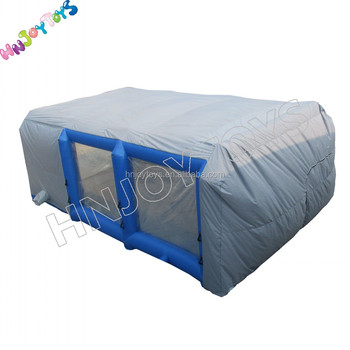 Outdoor Car Garage Inflatable Portable Paint Booth Tent ...