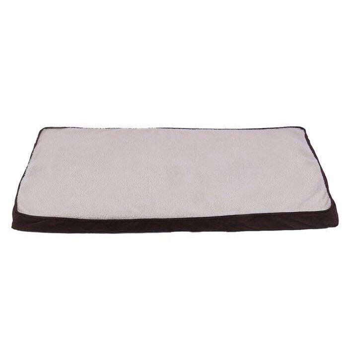 Long plush healthy memory foam Orthopedic pillow for pet dog bed