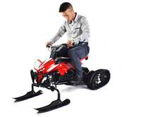 high quality ski scooter electric bike snow mobile for children