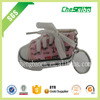 Good quality Hanging cloth/plush/wool shoe air freshener for car