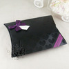 Black UV Paper Pillow Packaging Box