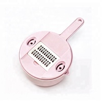 New Kitchen Tools Wheat Straw Products Grater With Storage Set Multi-function Food Grater