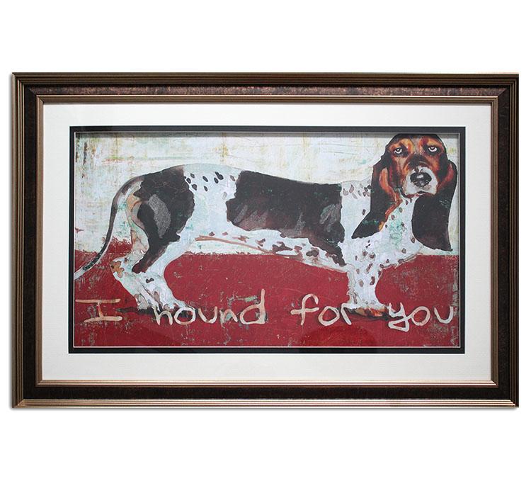 Basset Hound Arte Sobre Lienzo Enmarcado Gráfico Perro Pared Arte Buy Impresiones De Lienzo Enmarcadolindo Perro Imagen Arte Finopersonalizado