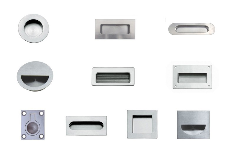 High Quality Flush Door Handles Hidden Handles Furniture